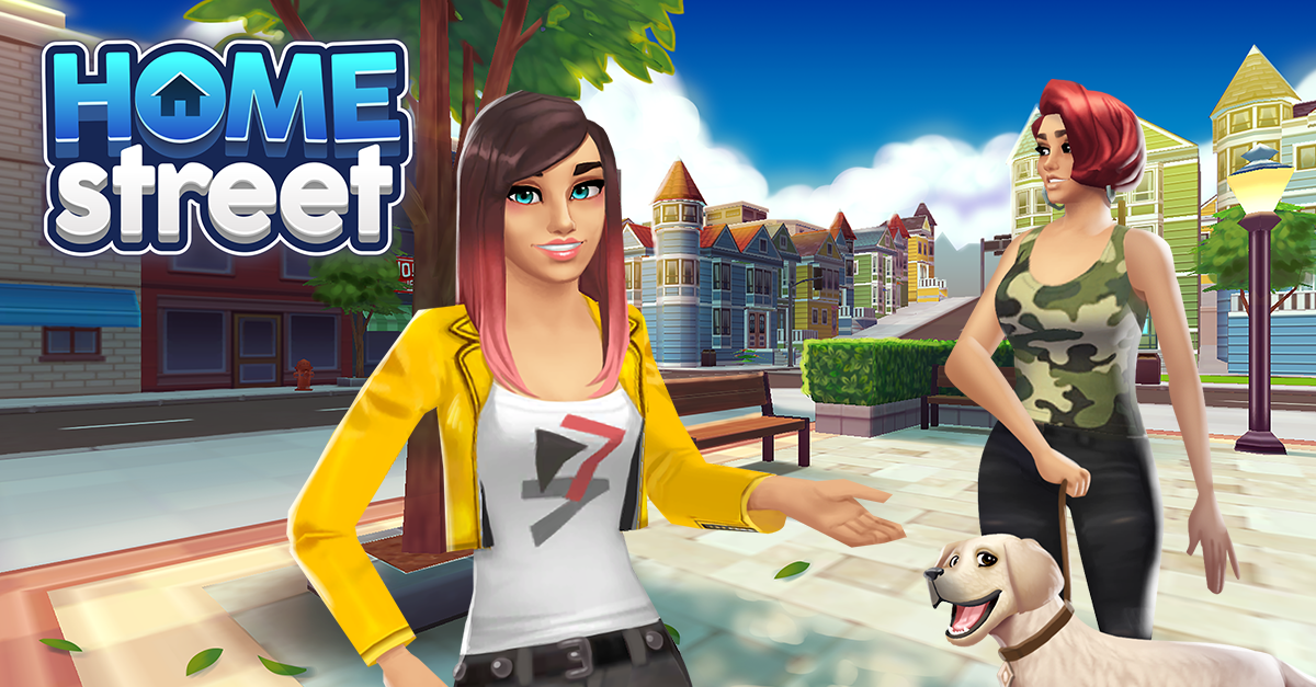 Mobile Developer SuperSolid Launches Home Street Game | SimsVIP on
