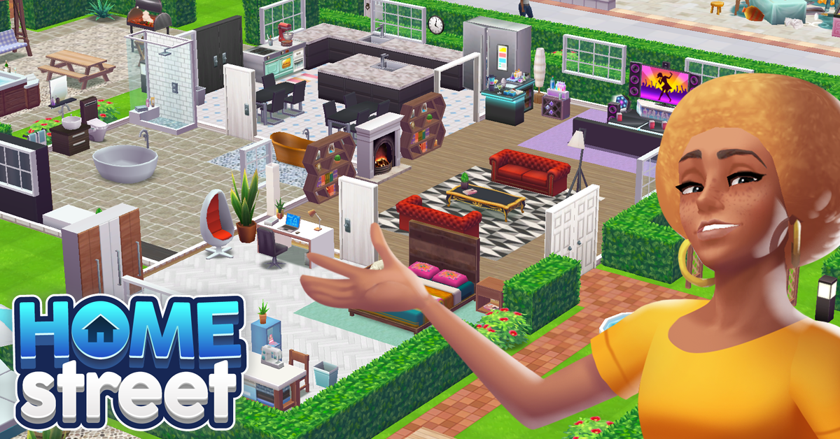 Mobile Developer SuperSolid Launches Home Street Game | SimsVIP on house planner games, architect games, house decorating games, house design, house building games, house builder games, design games,