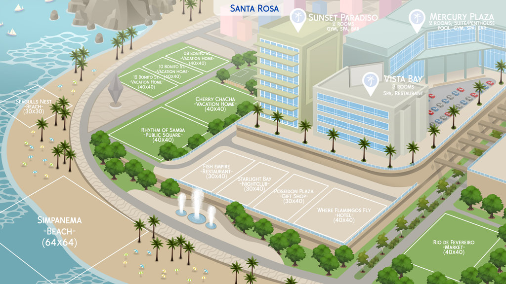 The sims 4 fan made world maps that are simply amazing simsvip additional fan made maps can be found on felipes deviantart gumiabroncs Choice Image