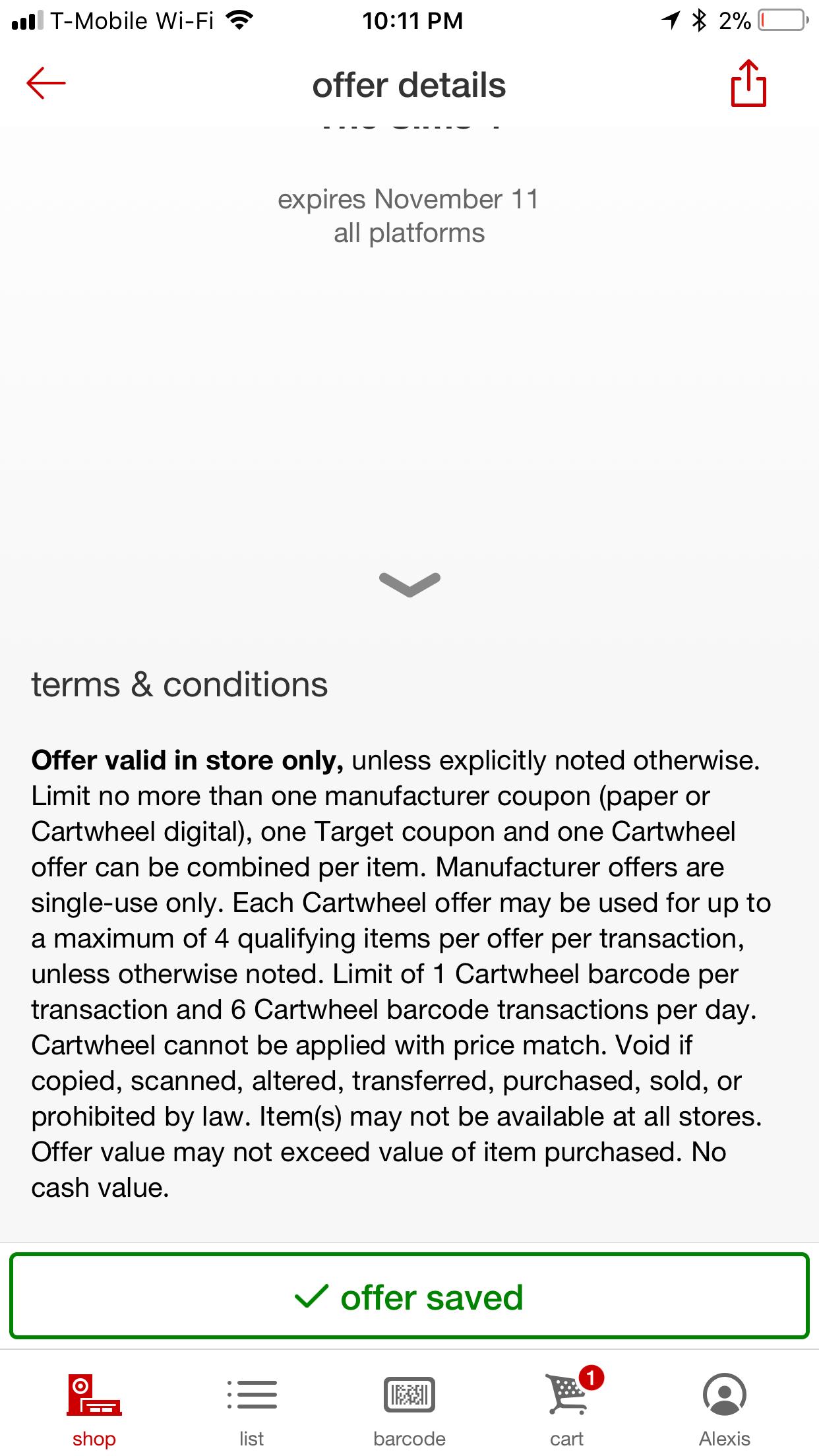 Camera paradise discount coupon