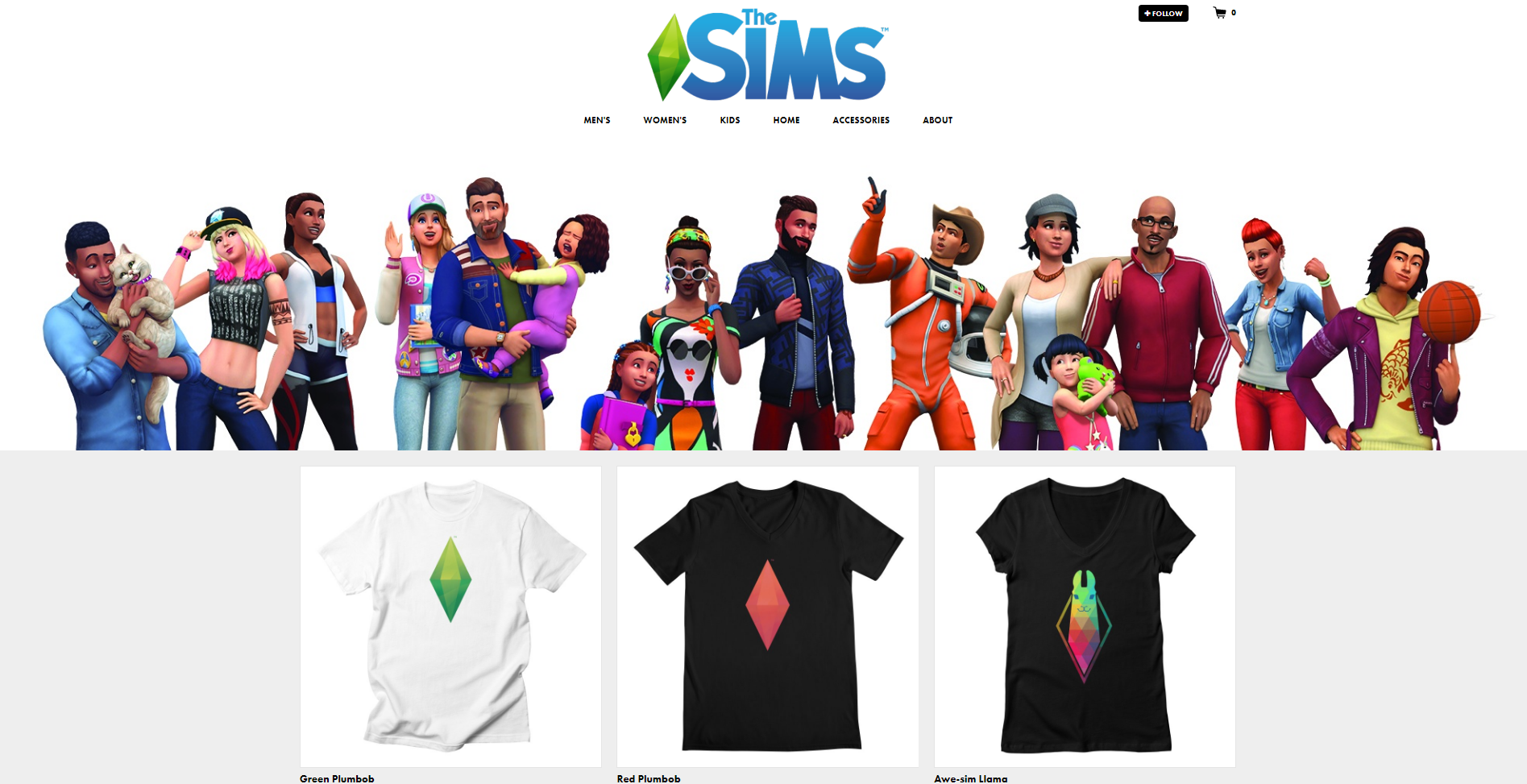 The Sims Launches an Official Merch Store! | SimsVIP