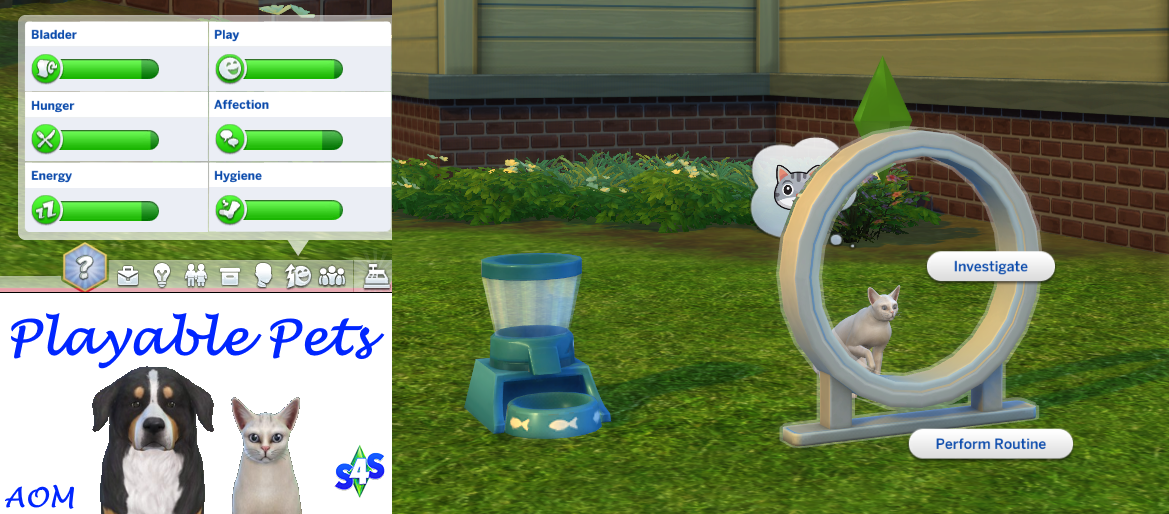 The Sims 4 Cats & Dogs: Playable Pets Mod! | SimsVIP