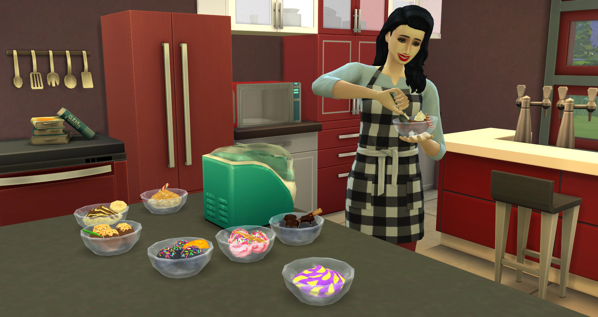 The Sims 4 Cool Kitchen Luxury Party Stuff Now Available