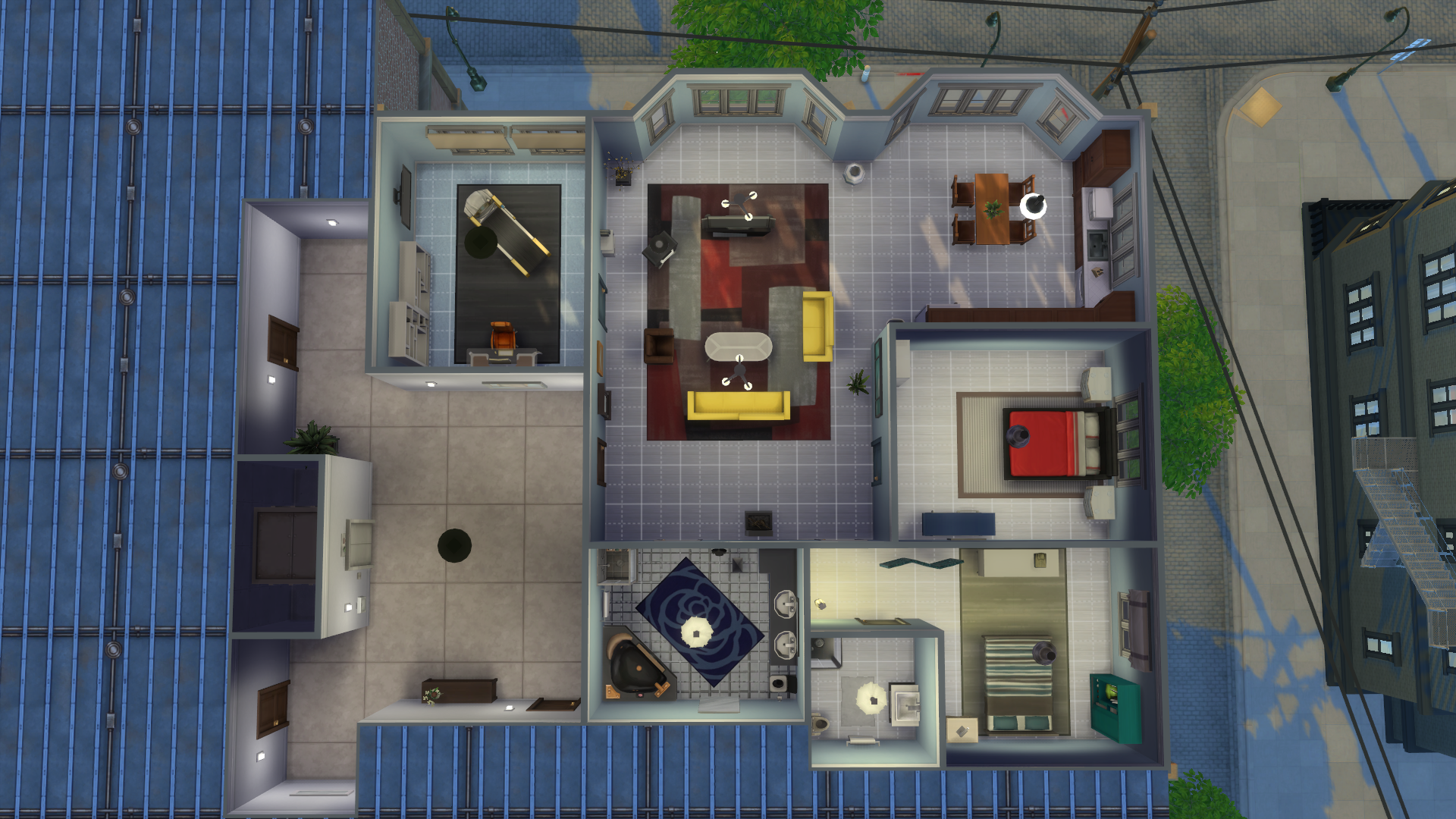 Designing A Better Apartment Remodeling The Culpepper Simsvip,Home Design Blueprints 1000 Sq Ft