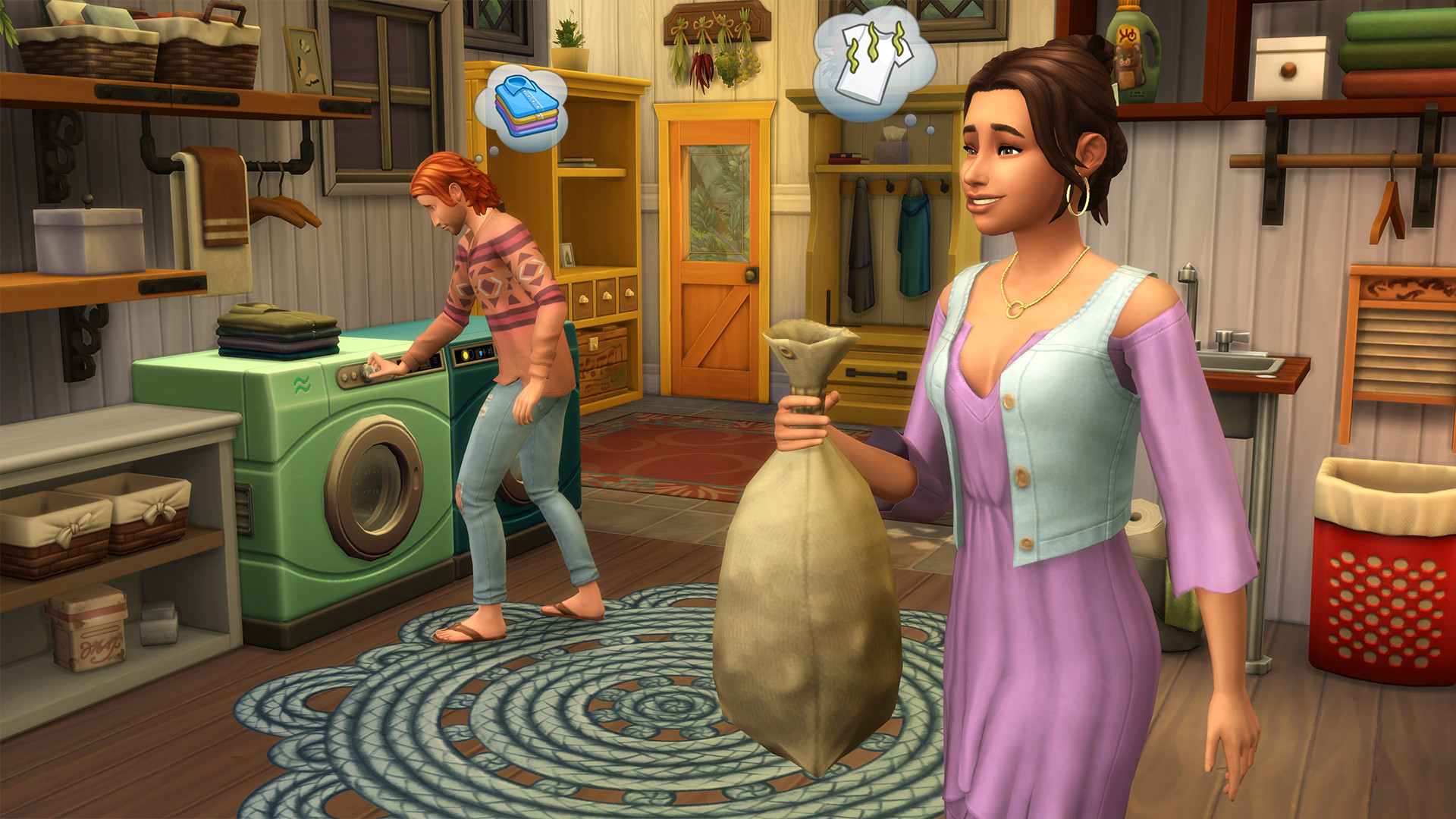 The Sims 4 Laundry Day Stuff Official Game Description