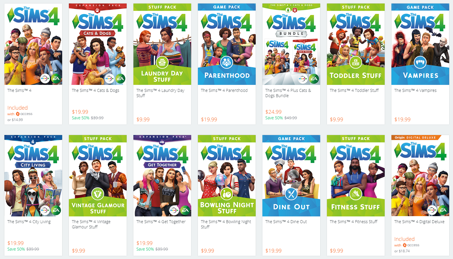 The Sims  Cats And Dogs Expansion Sale