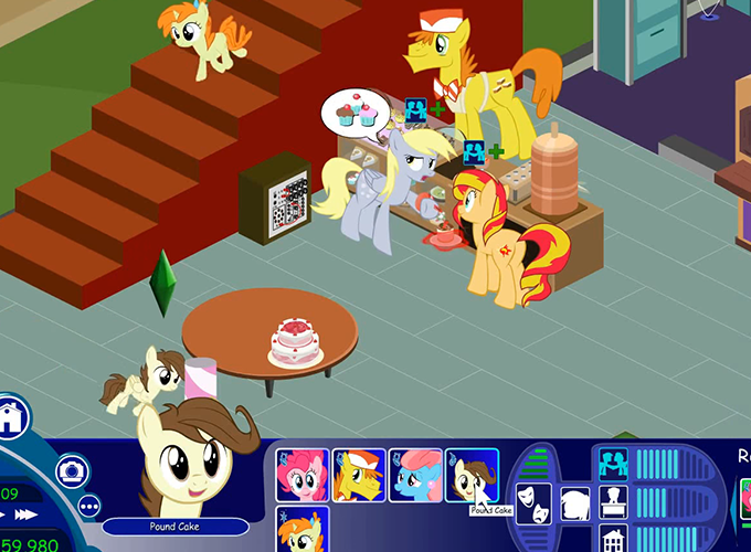 My little pony sims game