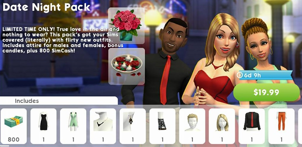 Dating simulation games for mobile