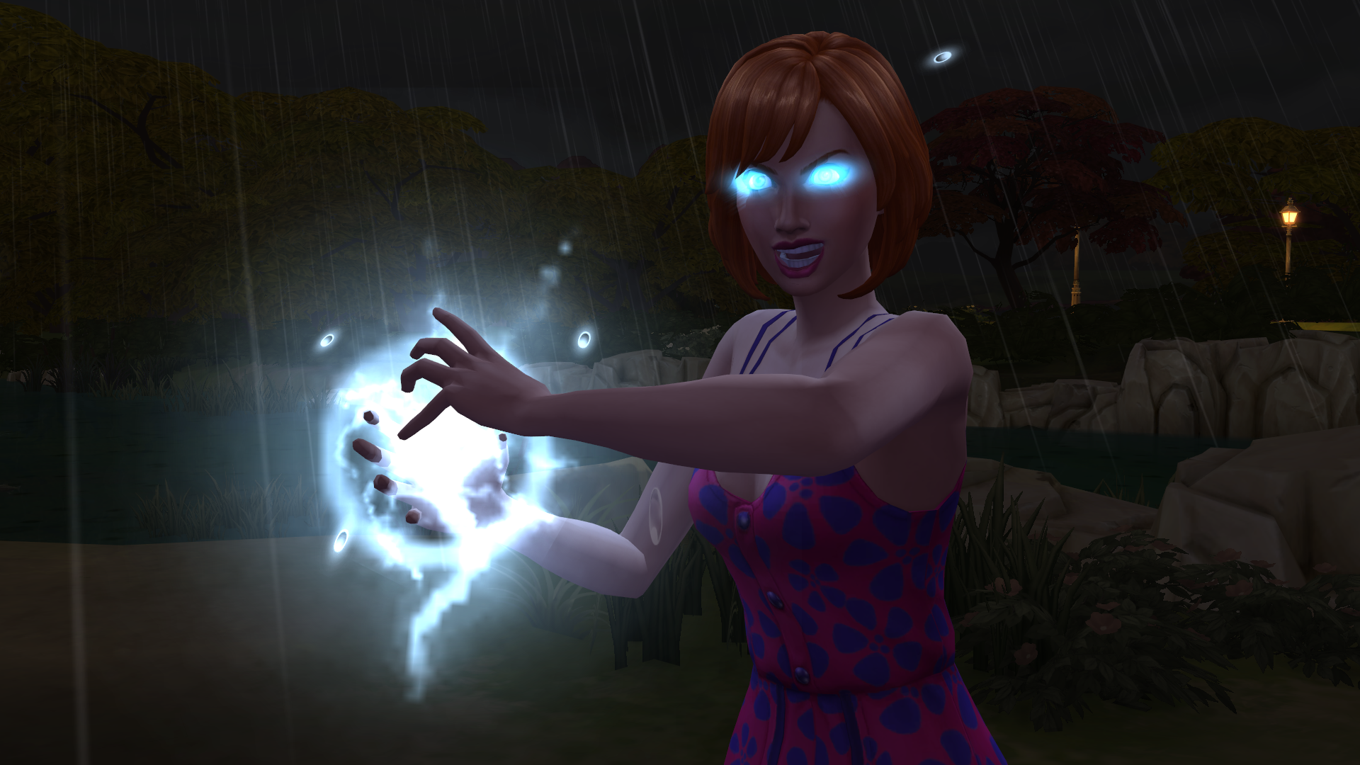 The Sims 4 Seasons: Summon Lightning Strikes on Sims