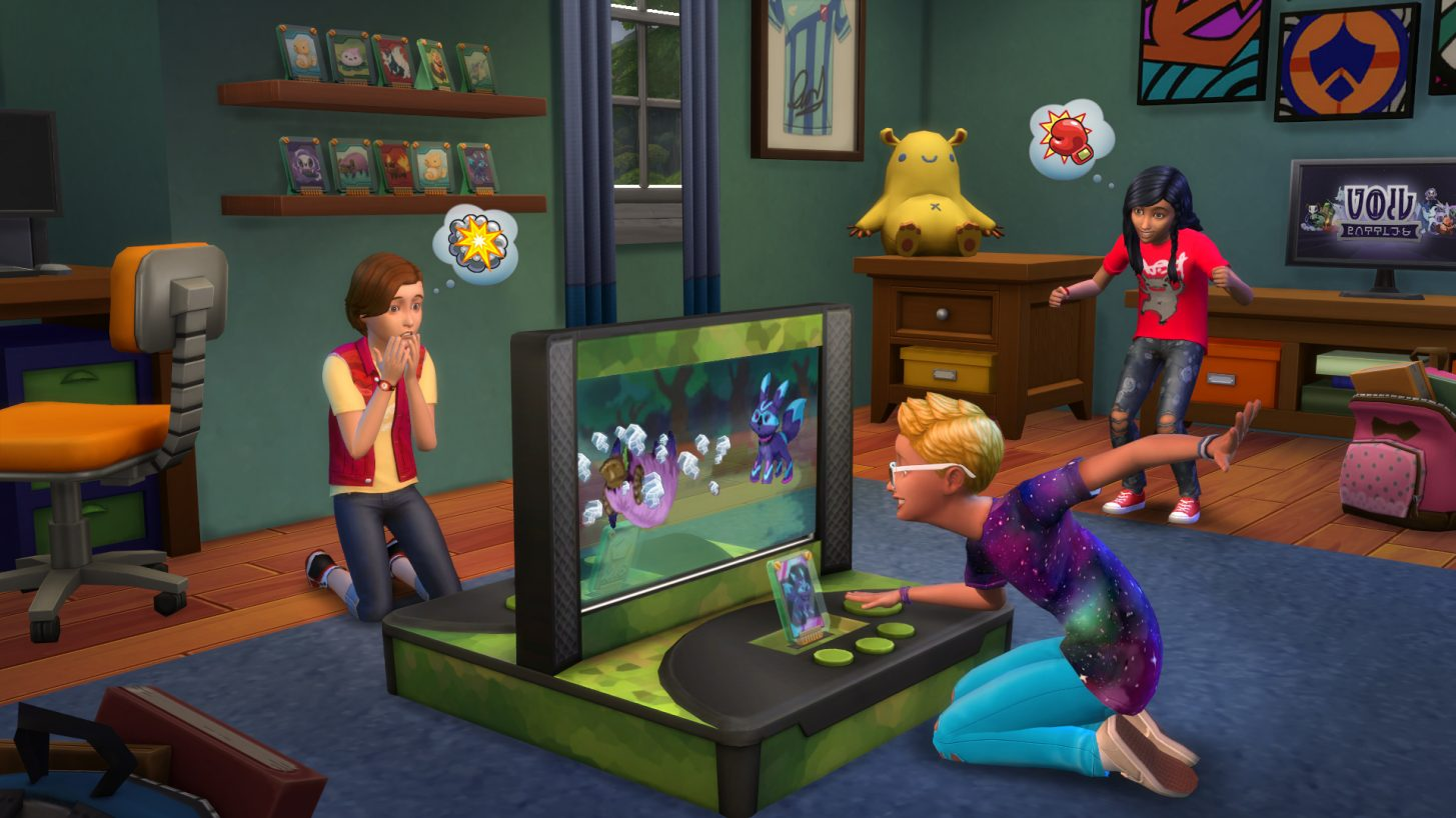 Players Who Are On PlayStation4 And Xbox One Can Add These Games To Their  Collection. For Information On These Games, Check Out Our Sims 4 Stuff Pack  And ...