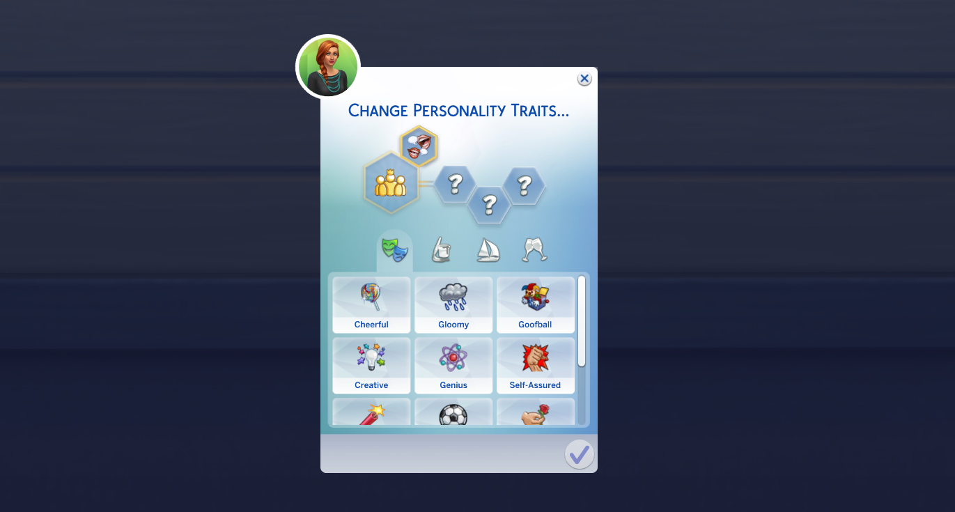 sims 4 reset traits
