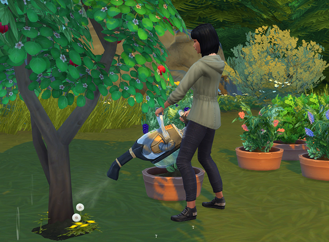 The Sims 4 Gardening Overhaul Changes