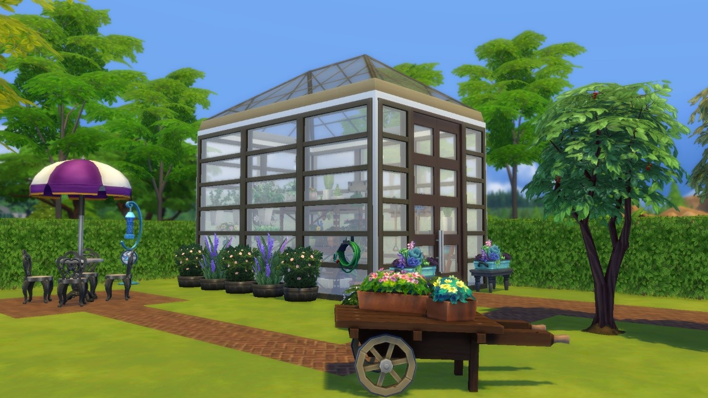 Sims 4 Is That Builders Are Finally Able To Create Realistic Greenhouses The Perfect Addition Your Green Thumbed Sim S Backyard