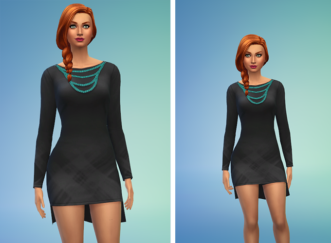 The Sims 4: Updated Height Slider Mod Now Available | SimsVIP