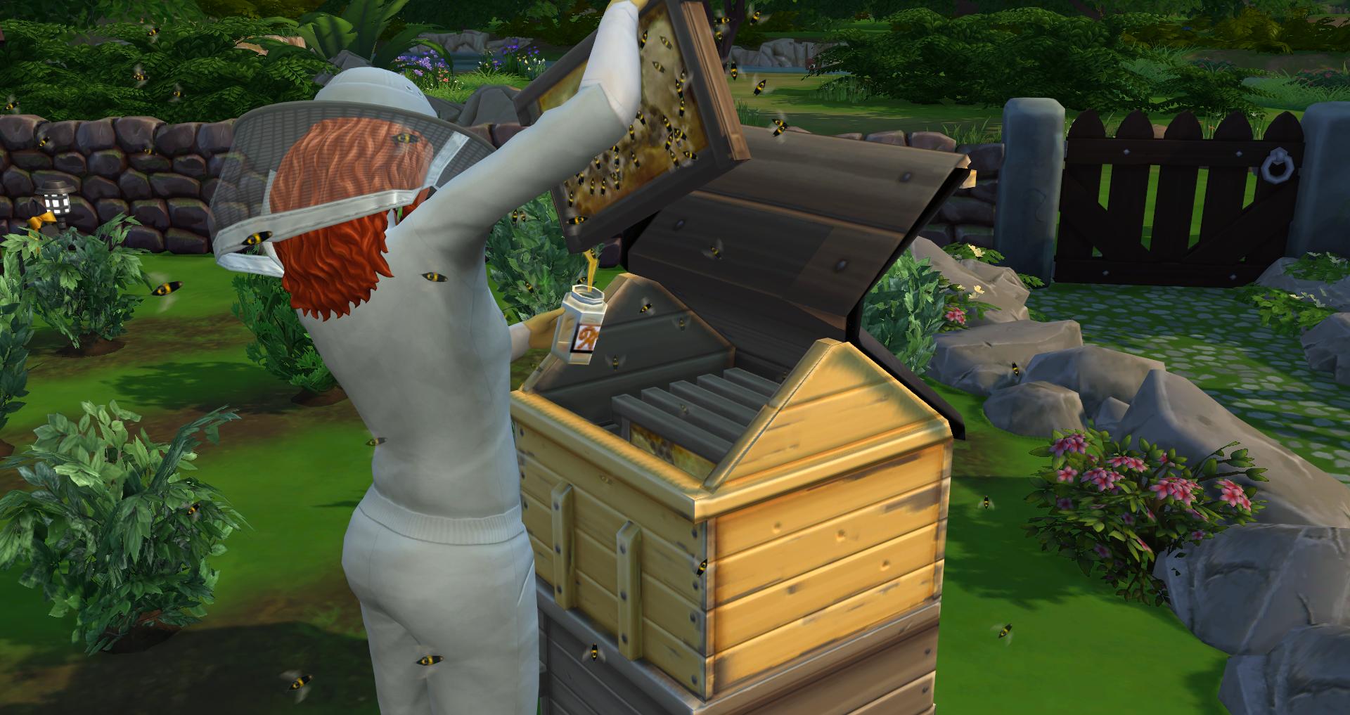The Sims 4 Seasons: Bees & Beekeeping | SimsVIP