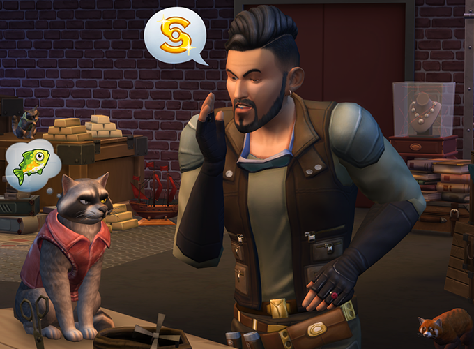 The Sims 4 Cats Dogs Is Coming To Consoles Simsvip