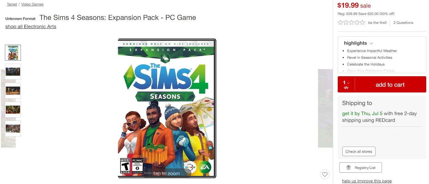 sims 3 seasons serial code for origin
