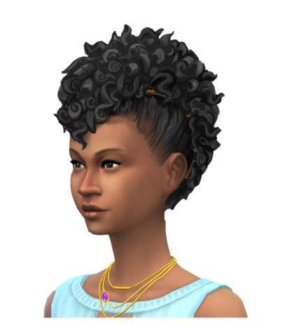 The Sims 4 Caribbean Hairstyle Concept Art Simsvip