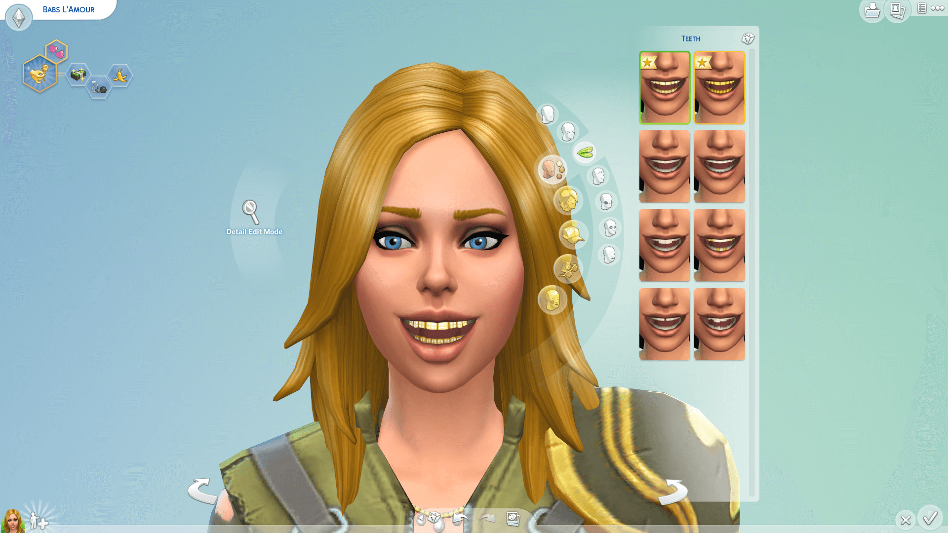 The Best Face Scars Sims 4 Cc PNG