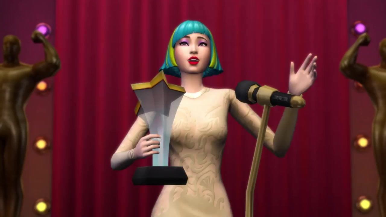 The Sims 4 Get Famous: Baby Ariel to Perform on the