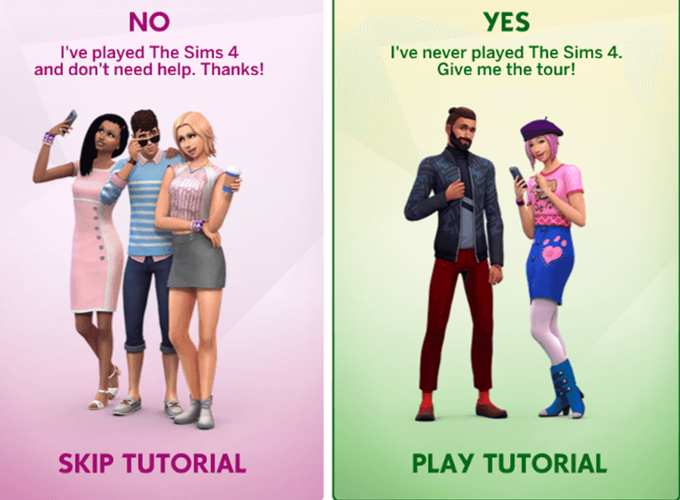 The Sims 4: Self-Employed, Tutorial Update, UI Changes