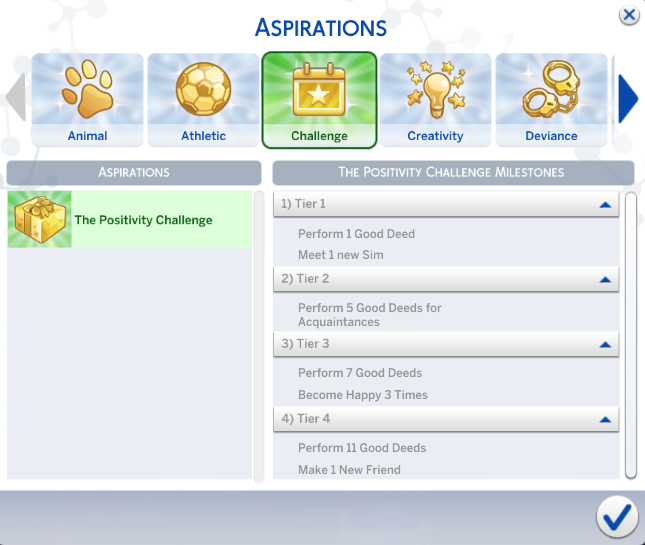 """How To Complete the """"Positivity"""" Challenge in The Sims 4 