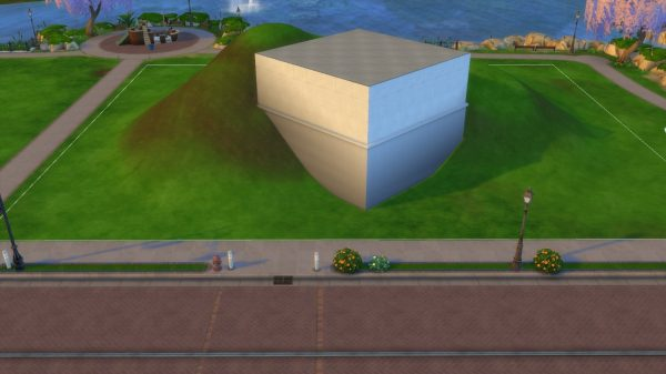Terrain Tools In The Sims 4, How To Build A Walkout Basement Sims 4