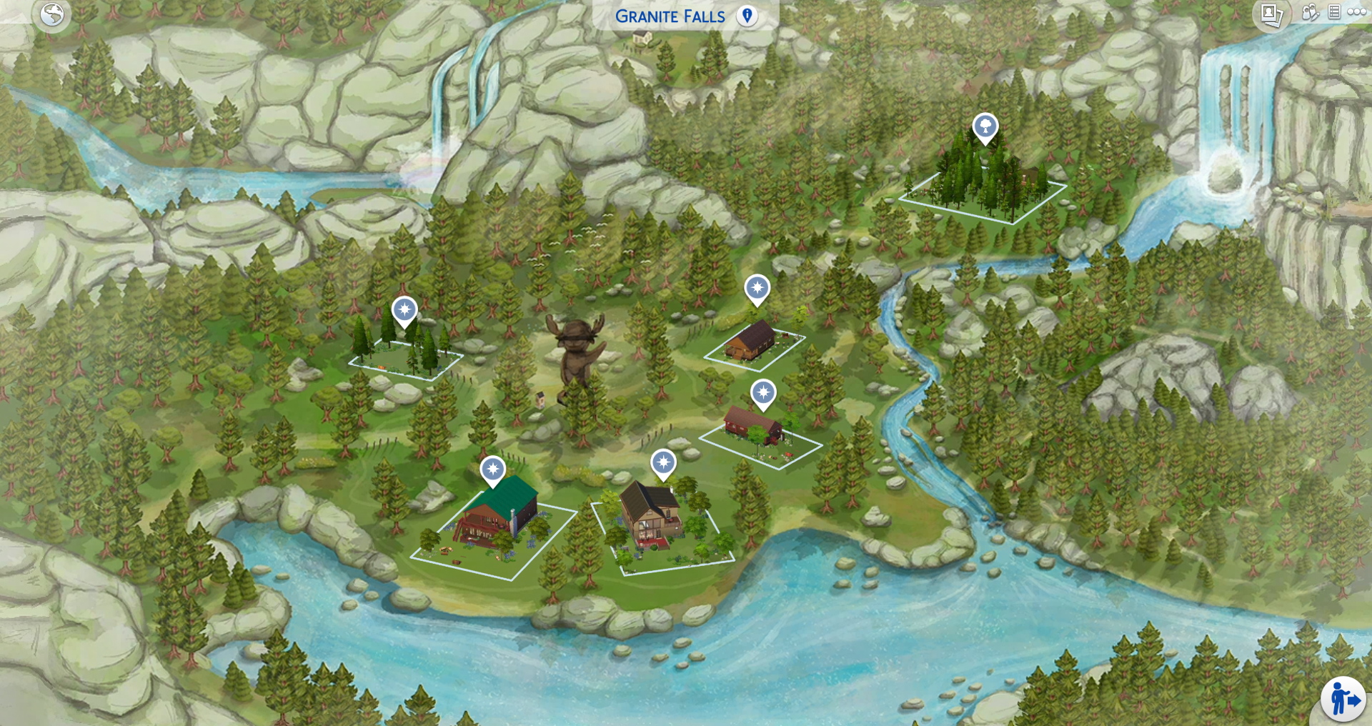 sims 4 world map download The Sims 4 World Map Replacements For All Worlds Now Available