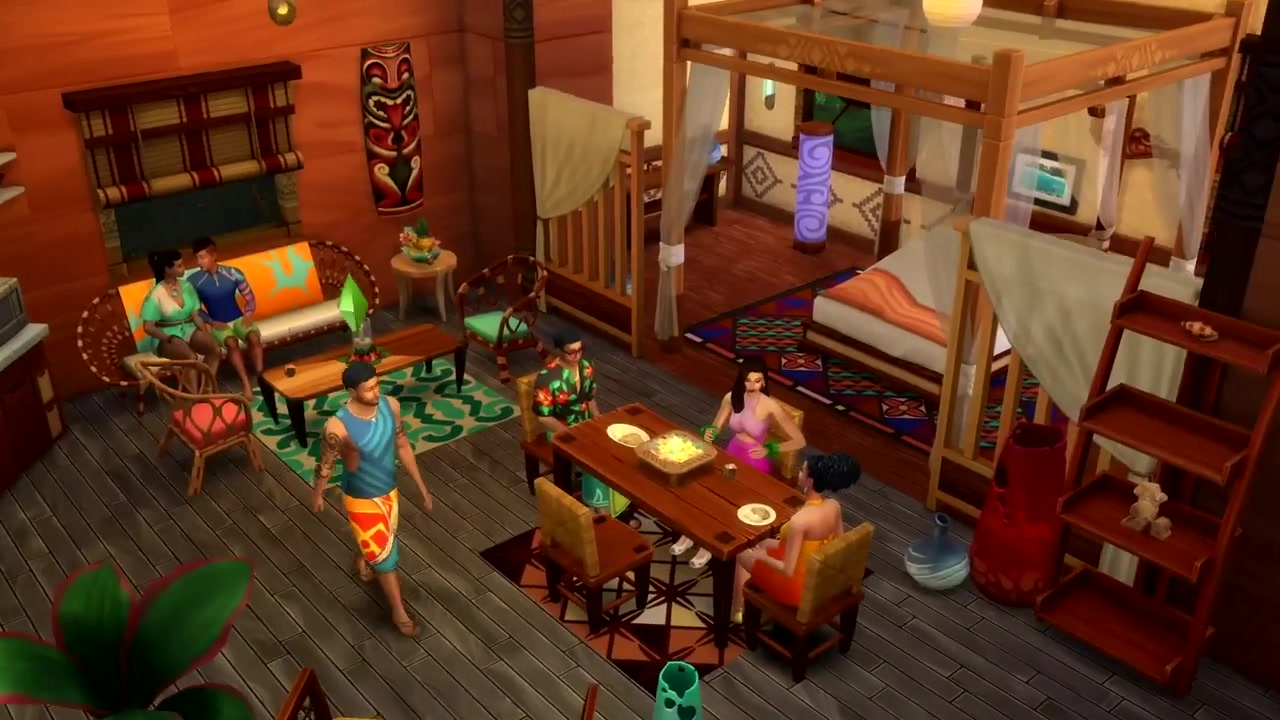 the sims 4 island living first look at gameplay  simsvip
