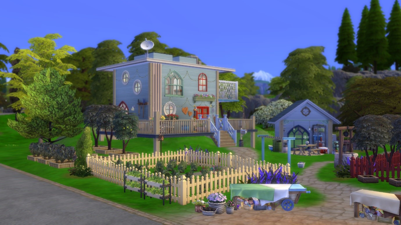 Build With Me: Off The Grid Home | SimsVIP