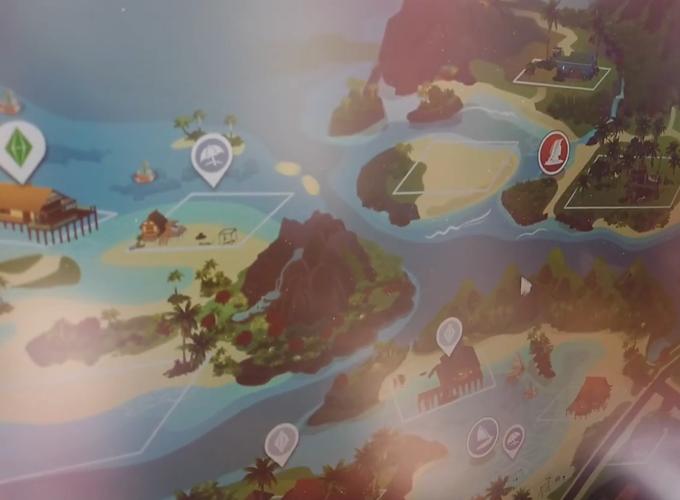 The Sims 4 Island Living: World Map, Sim Traits, Aspiration, and Lot