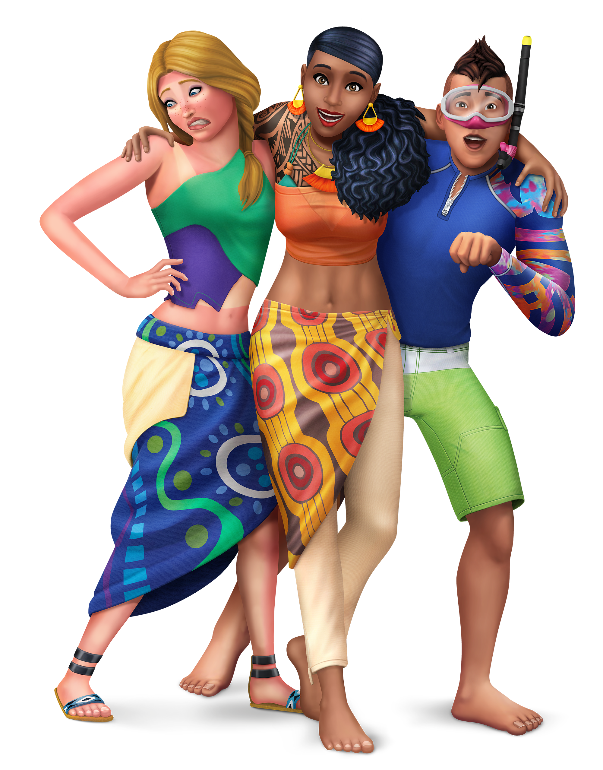 The Sims 4 Island Living: Official Logo, Box Art, Icon And