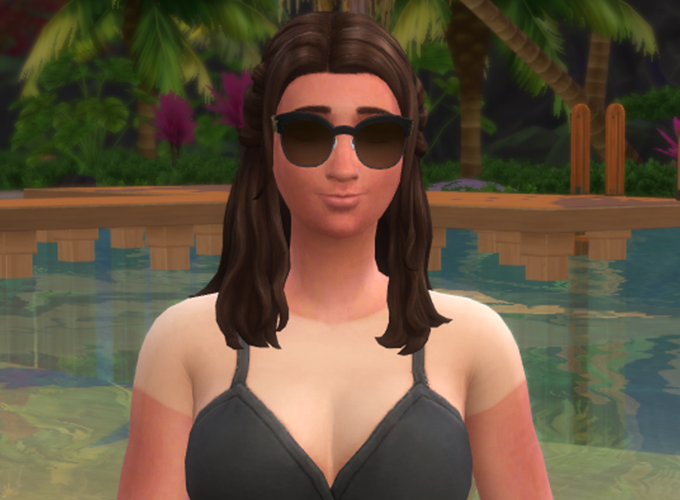 The Sims 4 Island Living: Updating Custom Content for Tan