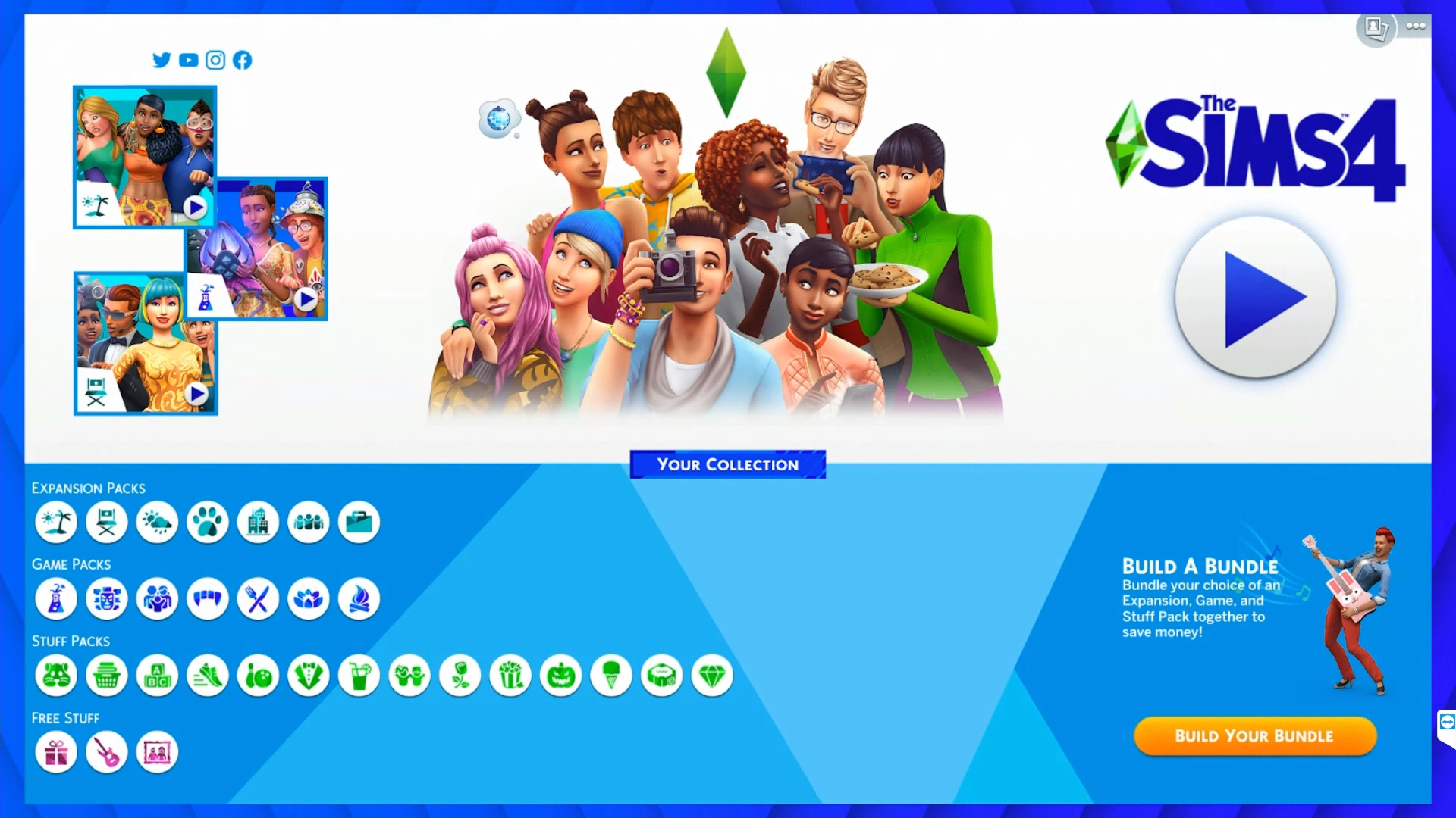 sims 4 how to get all packs for free