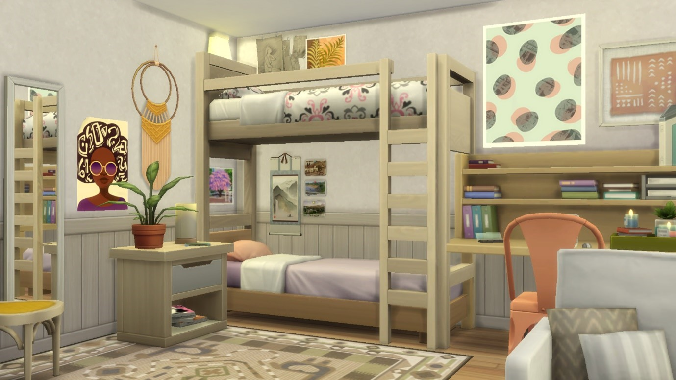 Building With Bunk Beds In The Sims 4 Simsvip